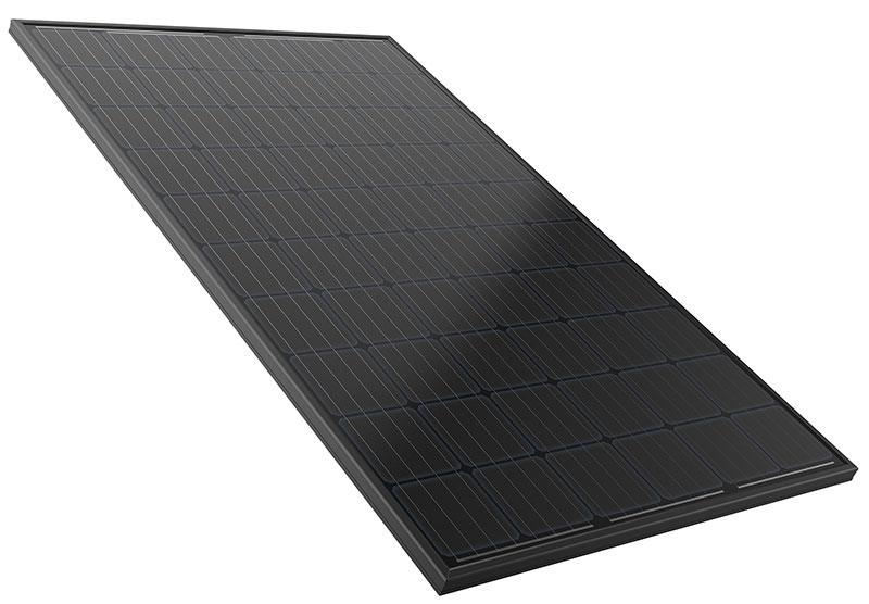 Silhouette Solar Panel