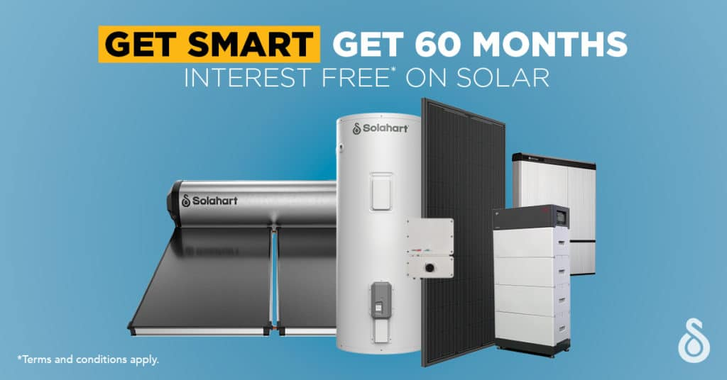 60 months interest free on solar