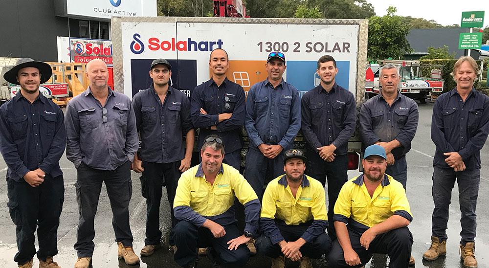 Solahart technical team
